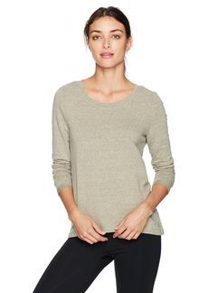 Danskin Women's Wide-Neck Hi Low Pullover  M