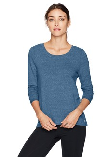 Danskin Women's Wide-Neck Hi Low Pullover  XL