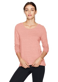 Danskin Women's Wide-Neck Hi Low Pullover  XS