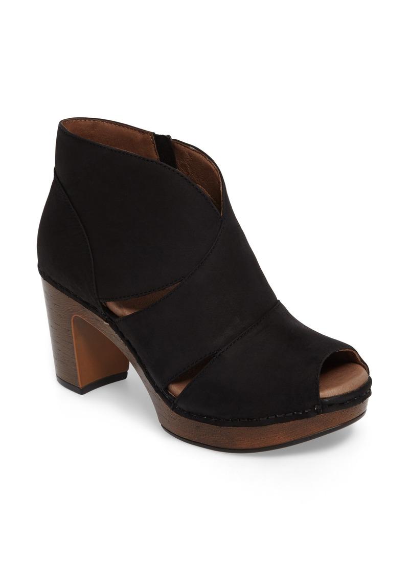 Dansko Dansko Delphina Block Heel Bootie (Women) | Shoes ...