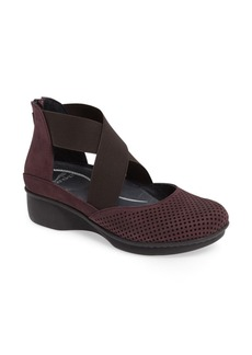 Dansko Laura Perforated Crisscross Wedge (Women)