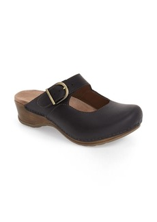 Dansko 'Martina' Mary Jane Buckle Clog (Women)