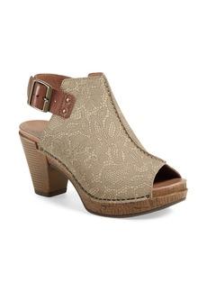 Dansko 'Reggie' Slingback Sandal (Women)