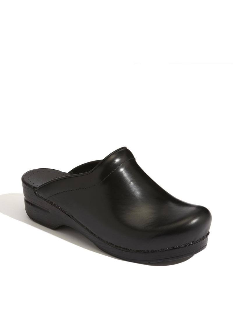 Dansko 'Sonja' Leather Clog