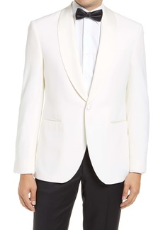 David Donahue Classic Fit Wool Dinner Jacket