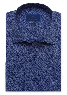 David Donahue Fusion Floral Dress Shirt