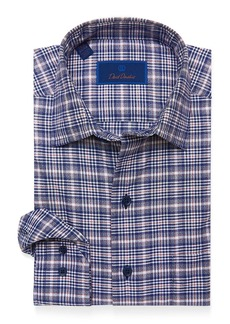David Donahue Casual Plaid Shirt