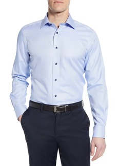 David Donahue Luxury Non-Iron Trim Fit Dress Shirt