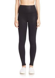David Lerner Ankle-Length Slim-Fit Leggings