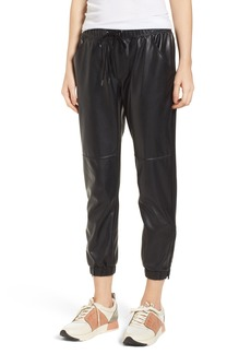 David Lerner Ankle Zip Jogger Pants