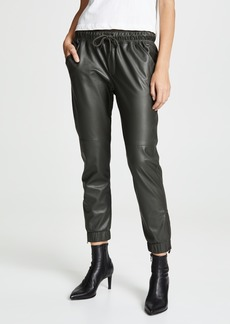 David Lerner Ankle Zip Joggers