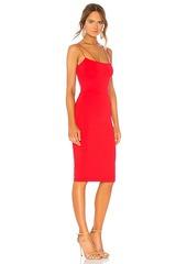 9e0c131c511d David Lerner Asymmetrical Strap Midi Dress David Lerner Asymmetrical Strap  Midi Dress