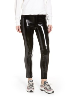 David Lerner Bergen Combo Faux Leather Leggings