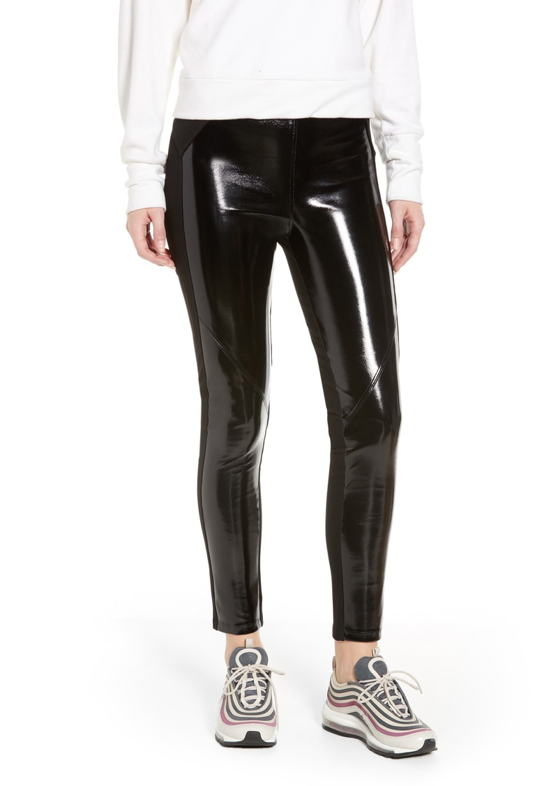 ae42706882389 David Lerner David Lerner Bergen Combo Faux Leather Leggings ...