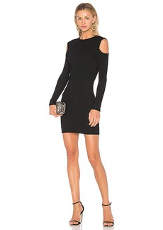 David Lerner Cold Shoulder Mini Dress