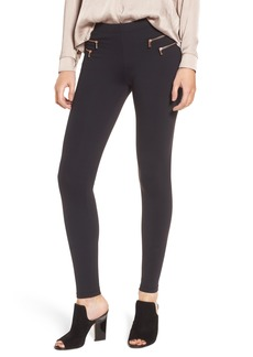 David Lerner Double Zip Leggings