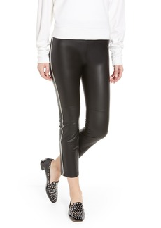 David Lerner Gemma Faux Leather Skimmer Pants