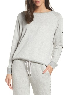 David Lerner Grommet Pullover Top