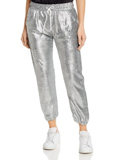 David Lerner James Sequined Jogger Pants