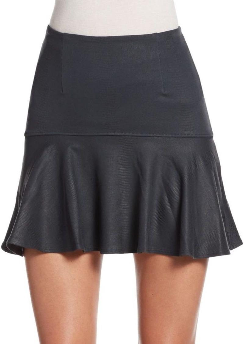 David Lerner Jordan Flounce Skirt