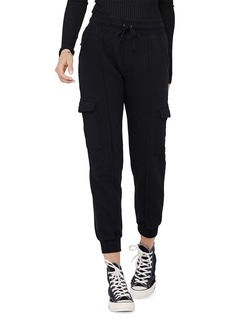 David Lerner Kendall High-Rise Cargo Jogger Pants