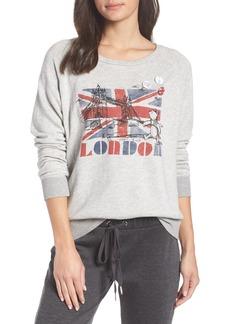 David Lerner London Bridge French Terry Sweatshirt