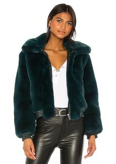 David Lerner Maverick Faux Fur Jacket