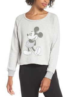 David Lerner Mickey Mouse Graphic Sweatshirt