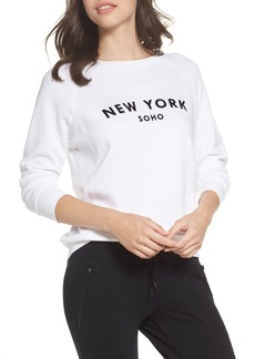 David Lerner New York Soho Raglan Pullover