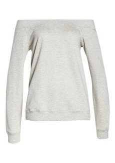 David Lerner Off the Shoulder Pullover
