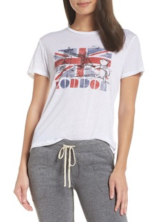 David Lerner Pooh Bear London Tee