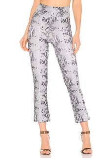 David Lerner Seamed Crop Flare Pant