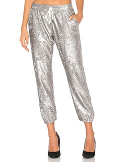 David Lerner Sequin Lounge Jogger