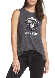 David Lerner Smokey Bear Muscle Tee