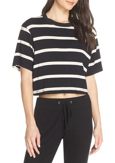 David Lerner Stripe Crop Tee