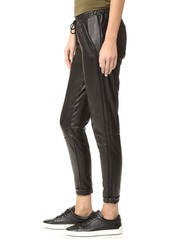 David Lerner Tapered Vegan Track Pants