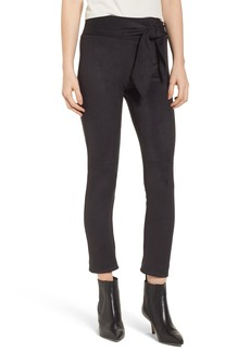 David Lerner Waist Tie Skimmer Leggings