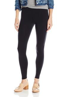 "David Lerner Women's Basic 8"" Rise Legging  L"