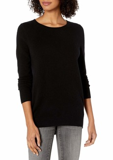 David Lerner Women's Cashmere Pullover W/Open Back  L