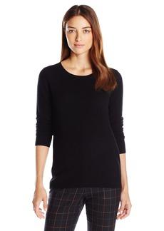 David Lerner Women's Cashmere Pullover W/Open Back  S