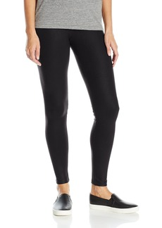 David Lerner Women's Coated Classic Legging Black M