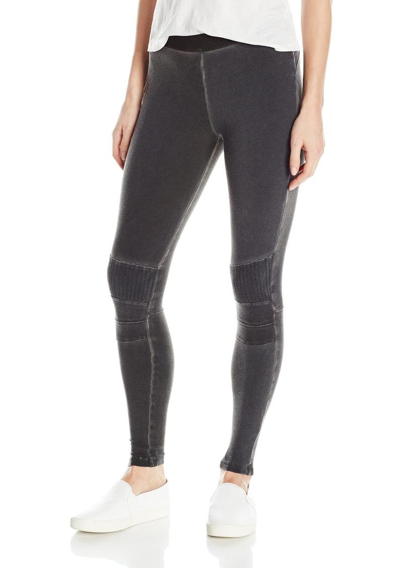 David Lerner Women's Stitched Moto Legging  S