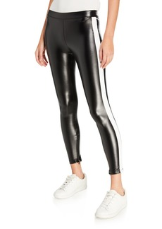 David Lerner Side-Stripe Leggings