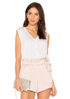 David Lerner Sleeveless Boxy Tank