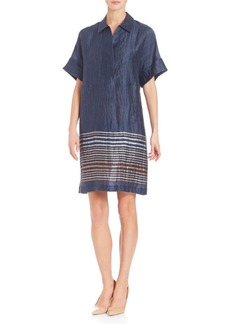 David Meister Adriatic Striped Mitra Dress
