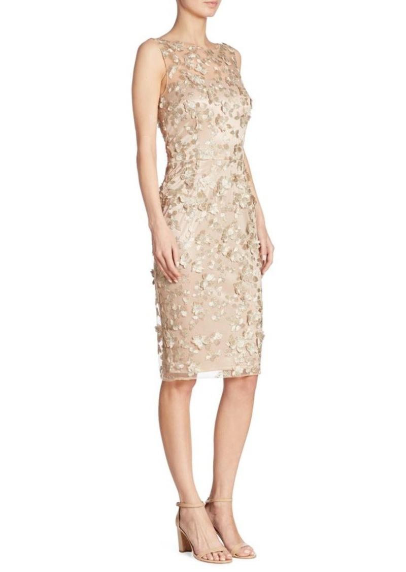 David Meister David Meister Floral Applique Dress | Dresses
