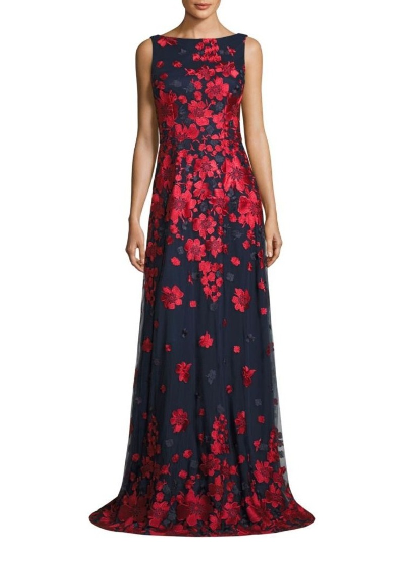 David Meister David Meister Floral-Print Gown | Dresses - Shop It To Me