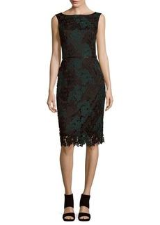 David Meister Veni Floral Lace Dress