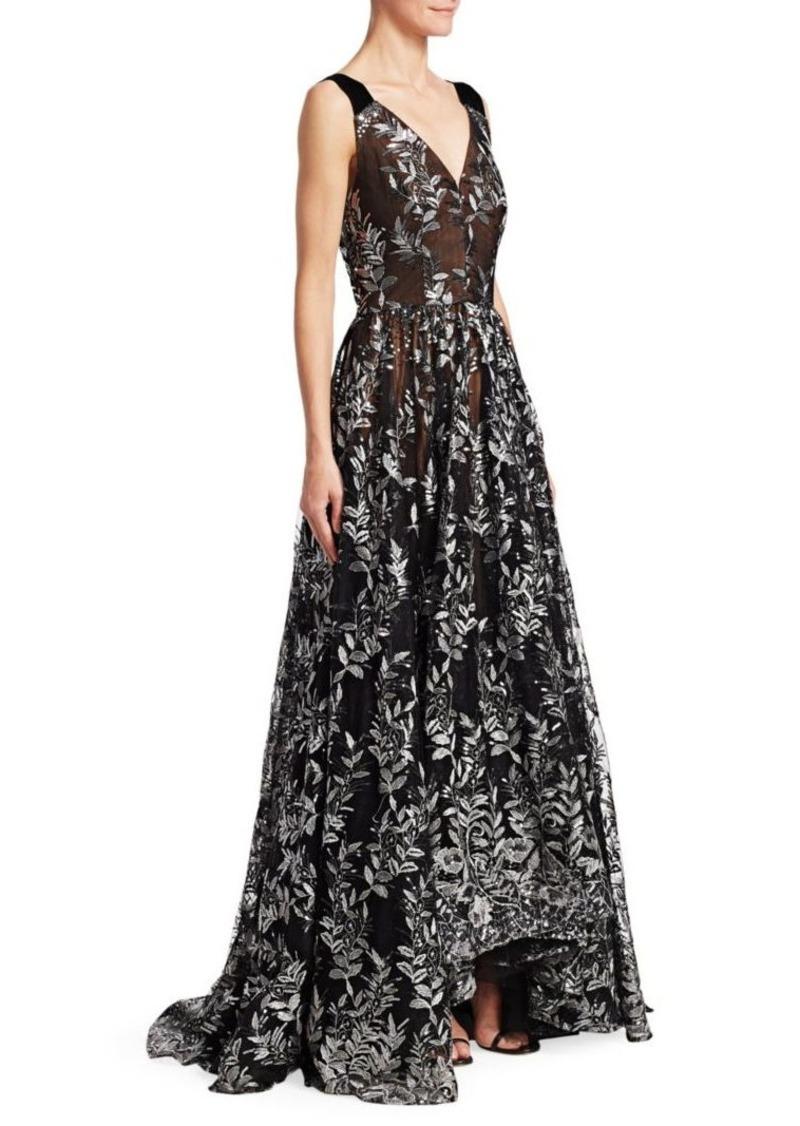 ab963b931da6 David Meister Sequin Floral Ball Gown | Dresses