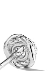 David Yurman 18kt white gold Infinity diamond stud earrings